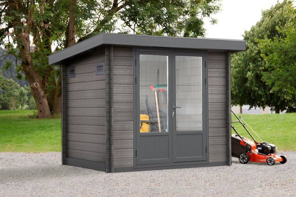 wolff gartenhaus trend b bxt 280x237 cm kaufen otto
