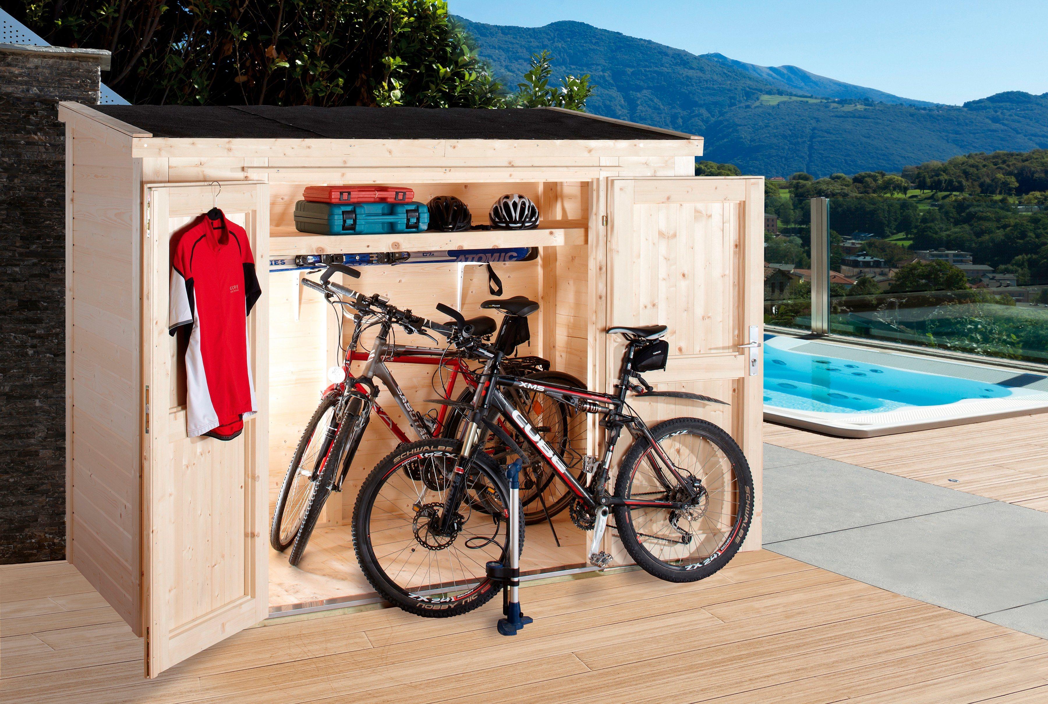 WOLFF Geräteschrank »20-D«, BxTxH: 260x122x178 cm | Garten > Gerätehäuser | Wolff