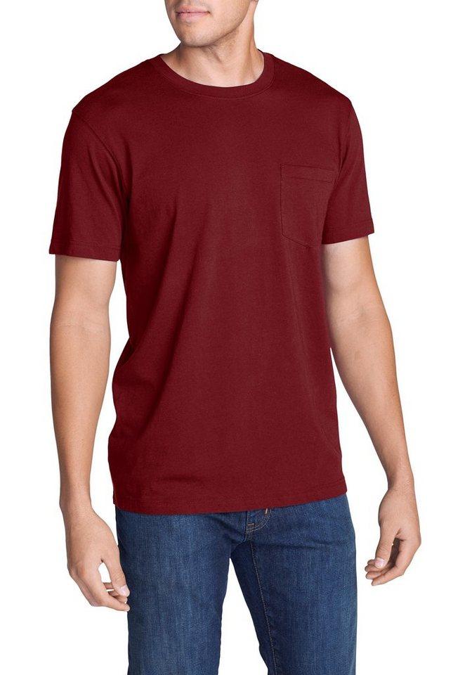 eddie bauer -  T-Shirt Legend Wash Shirt - Kurzarm mit Tasche
