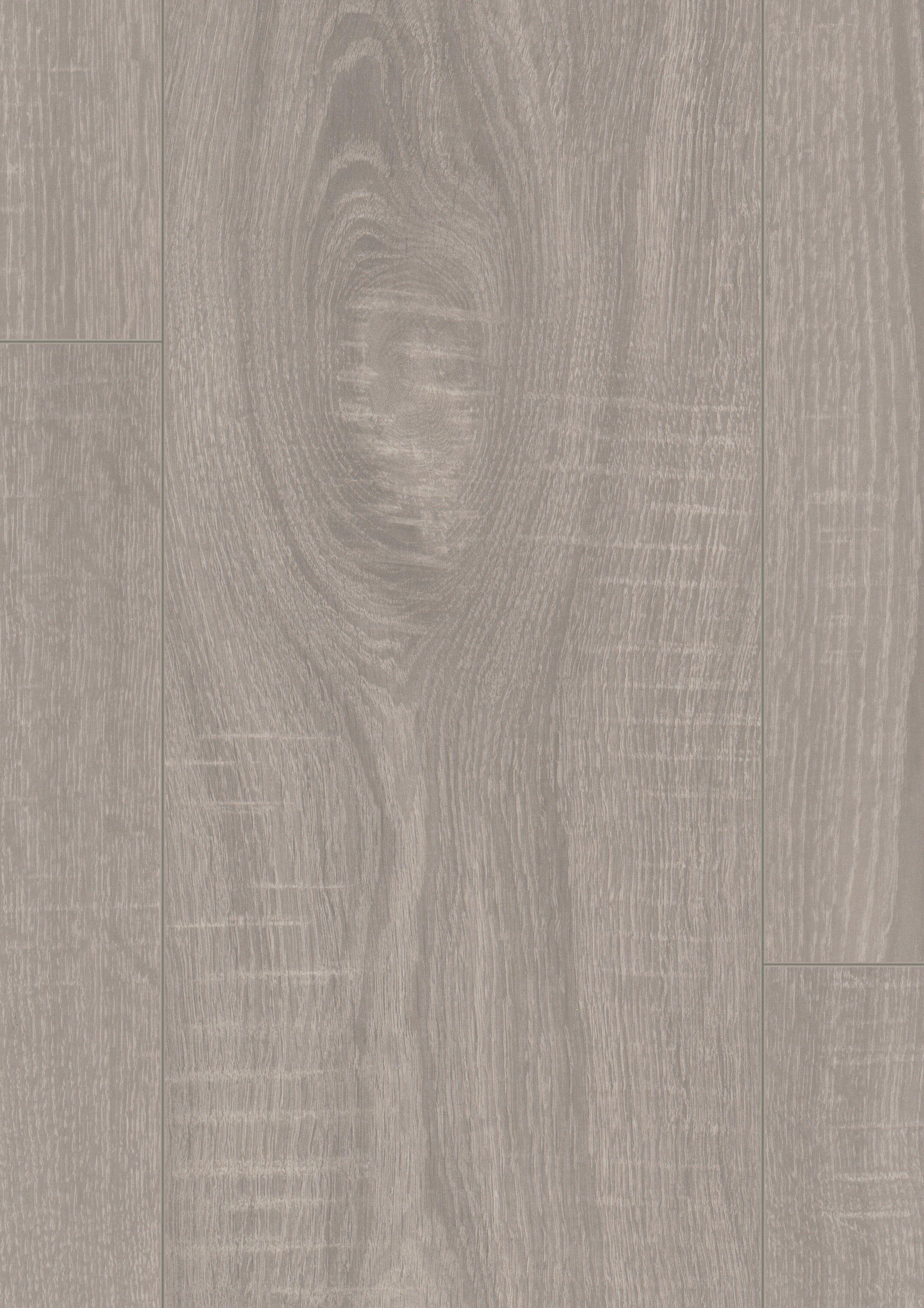 EGGER Laminat »EGGER HOME Aqua+ Toscolano Eiche grau«, 1291 x 193 mm, Stärke: 8 mm