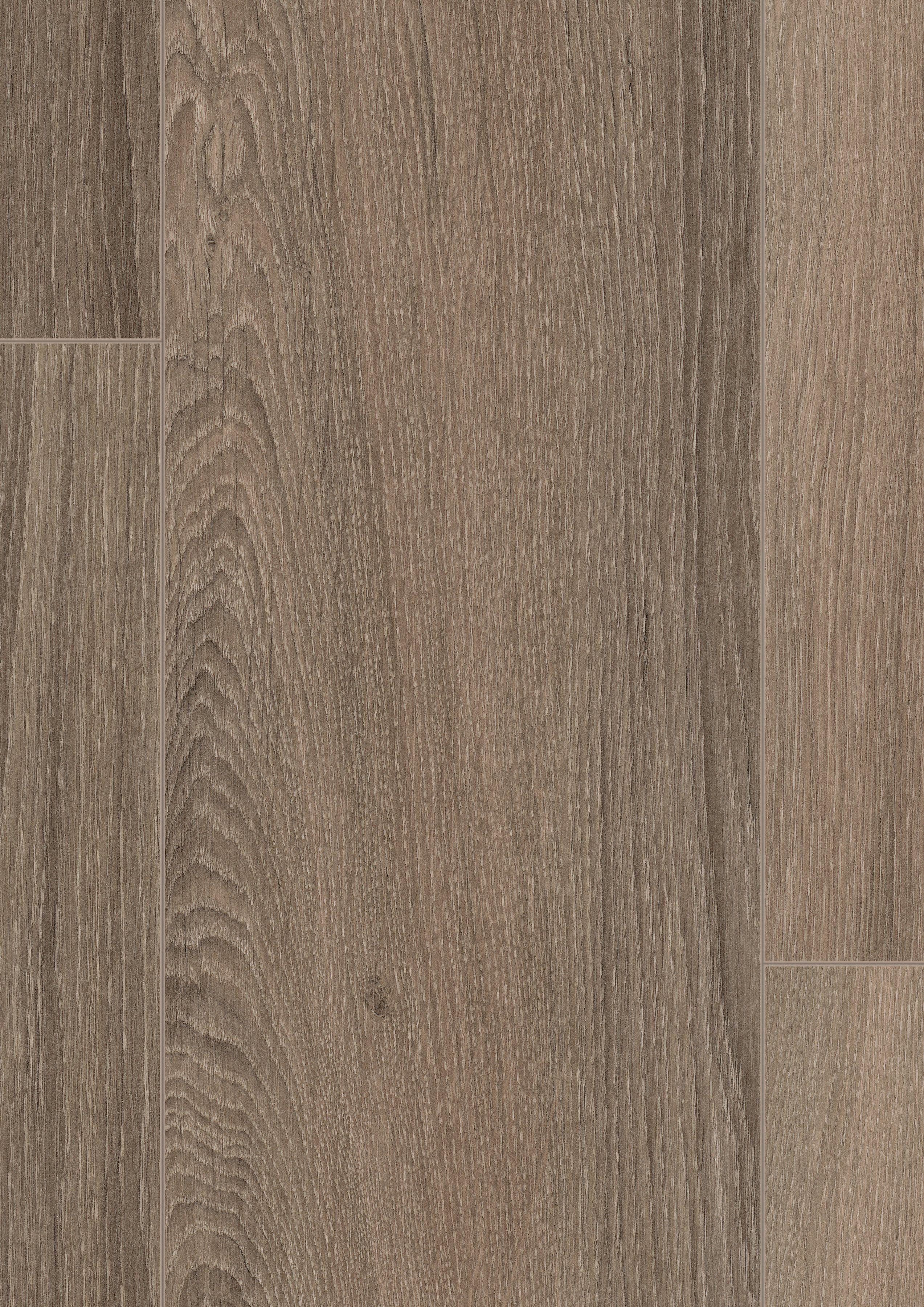 EGGER Designboden »EGGER HOME Design Eiche gekalkt grau«, 1295 x 192 mm, Stärke: 5 mm