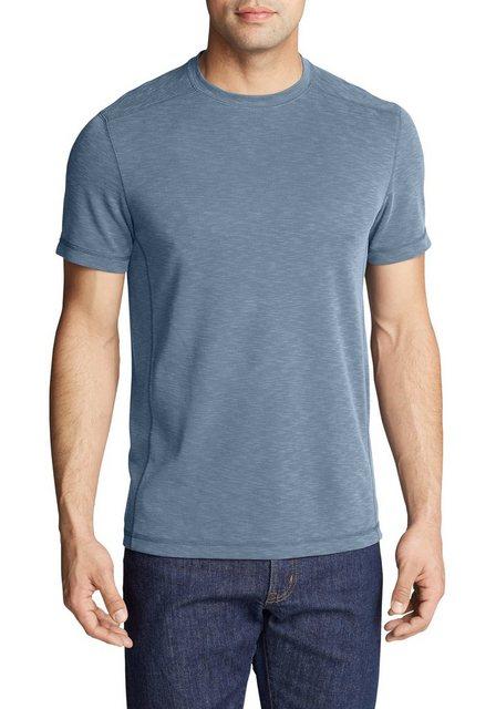 Herren Eddie Bauer T-Shirt Contour Performance T-Shirt blau   04057682310206