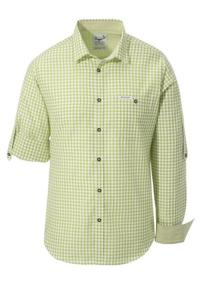 Stockerpoint Trachtenhemd im klassischen Stil | Bekleidung > Hemden > Trachtenhemden | Grün | Stockerpoint