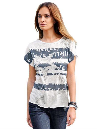 Alba Moda Shirt mit Sternemotiv