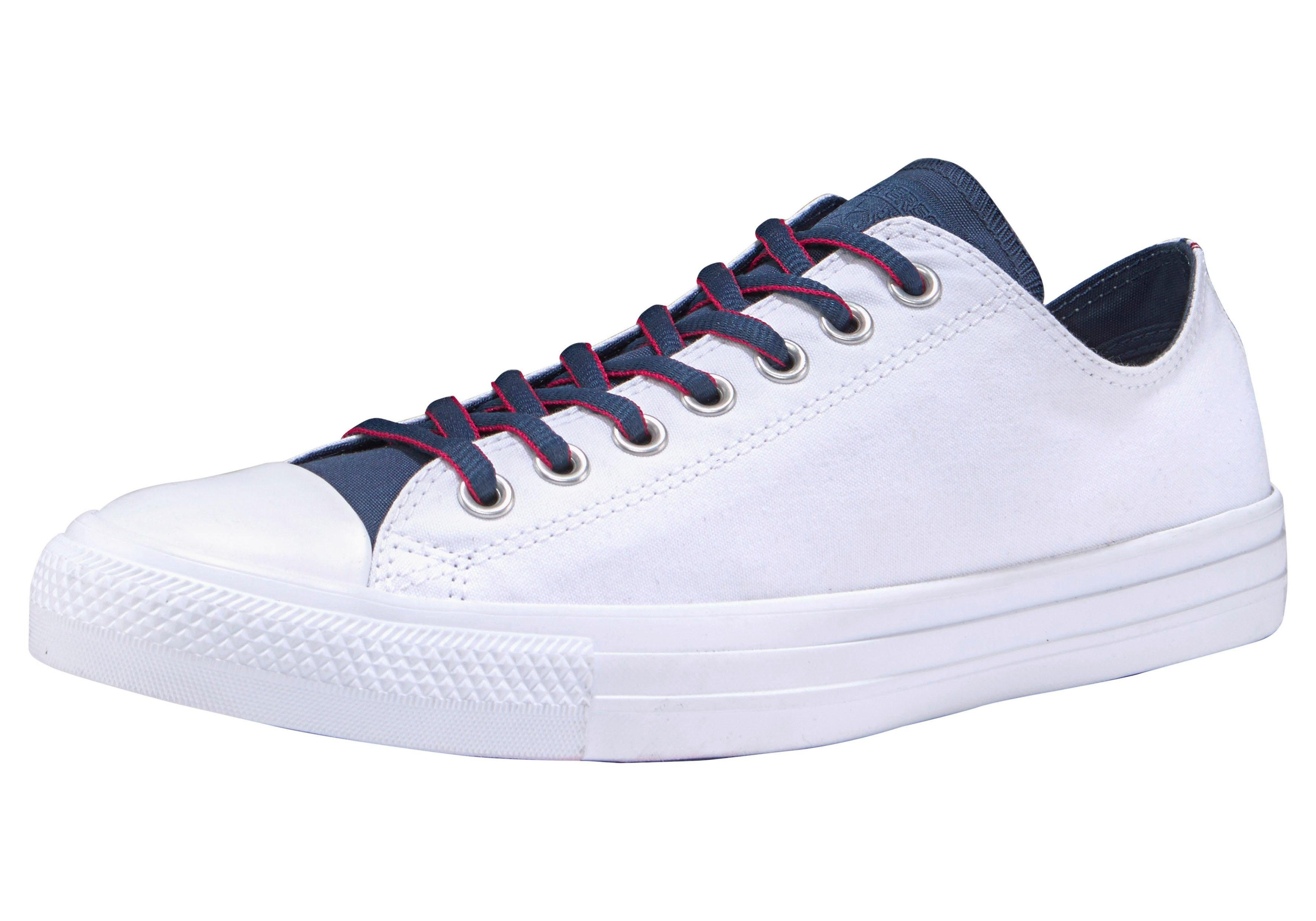 Converse Chuck Taylor All Star Ox Uni Sneaker  weiß-navy-rot