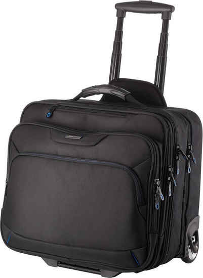 LIGHTPAK® Business-Trolley »Executive Line, Bravo II«, 2 Rollen, mit Laptopfach