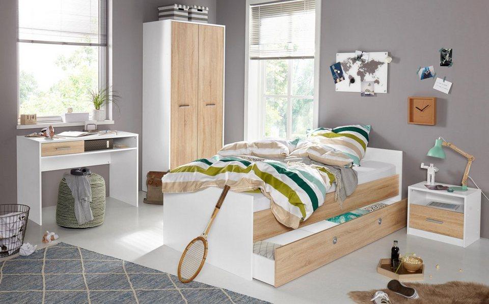 jugendzimmer set 5 tlg schrank mir 2 t ren online. Black Bedroom Furniture Sets. Home Design Ideas