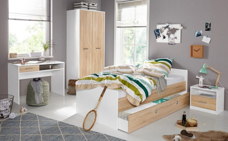 jugendzimmer set 5 tlg schrank mir 2 t ren online kaufen otto. Black Bedroom Furniture Sets. Home Design Ideas