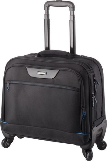 LIGHTPAK® Business-Trolley »Star«, 4 Rollen, mit Laptopfach