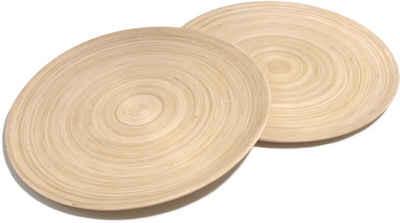 Franz Müller Flechtwaren Pizzateller »Bamboo«, (2 Stück), Bambus