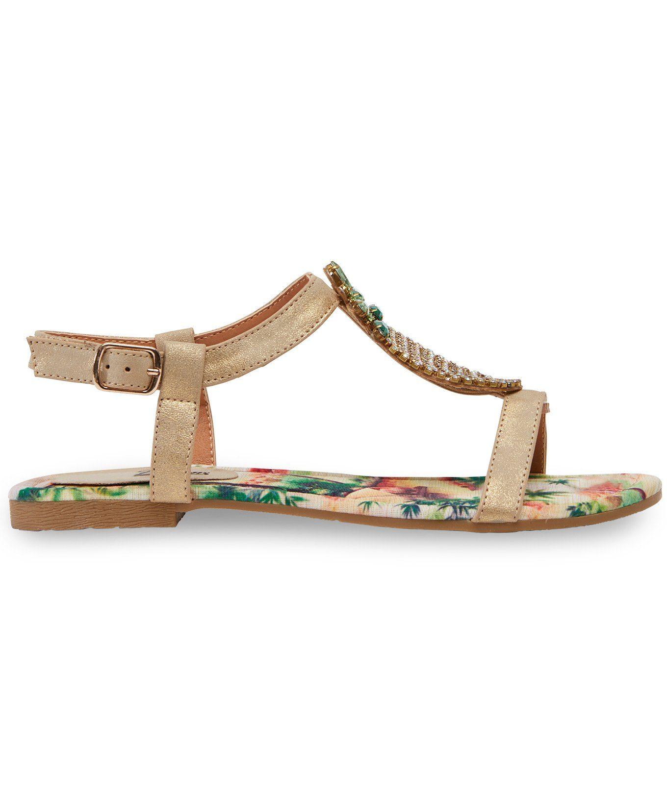 Joe Browns Sandale online kaufen  goldfarben