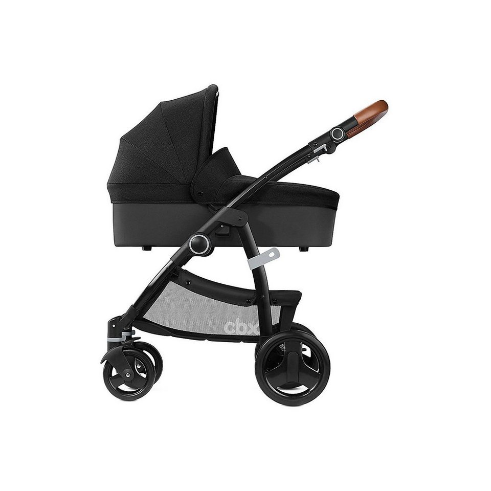cbx by cybex kombi kinderwagen leotie lux leather smoky. Black Bedroom Furniture Sets. Home Design Ideas