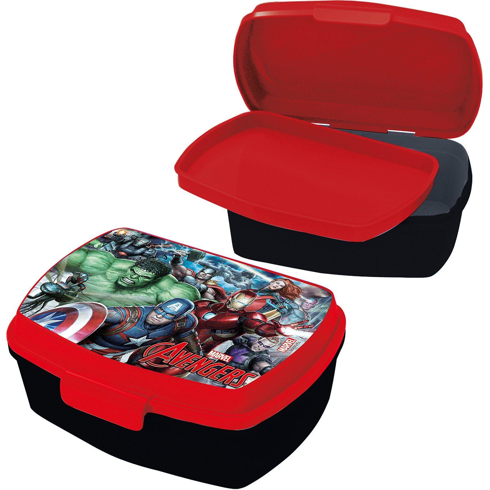 p:os Brotdose mit Einsatz Avengers