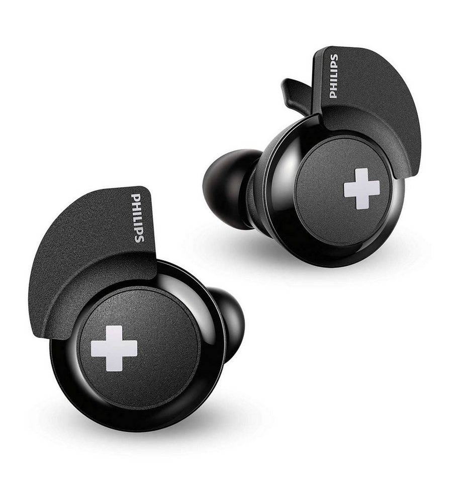 philips bluetooth in ear kopfh rer mit ladeschale. Black Bedroom Furniture Sets. Home Design Ideas