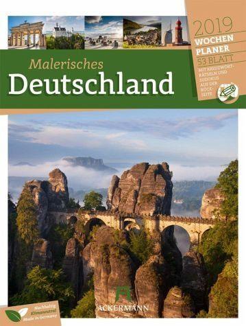 Kalender »Malerisches Deutschland - Wochenplaner 2019«