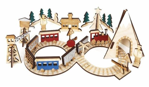 Kalender »Adventskalender Eisenbahn«