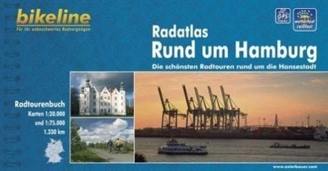 Broschiertes Buch »Bikeline Radatlas Rund um Hamburg«