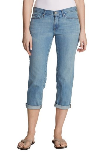 Boyfriend Eddie Bauer jeans Aquablau 4 Crop 3 DW2YEHI9