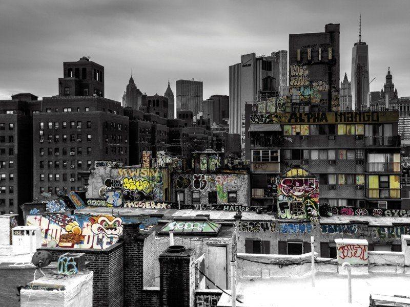New York Leinwandbild ~ Artland poster oder leinwandbild »kurt krause: graffiti in new york