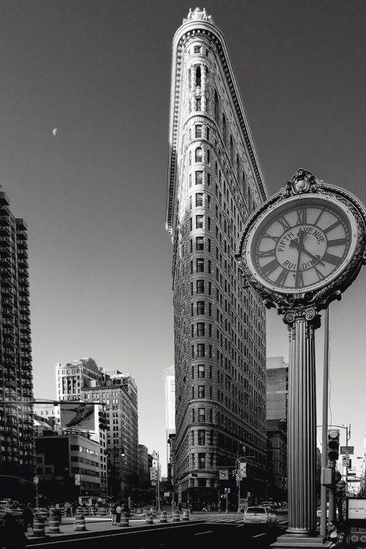 Artland Poster oder Leinwandbild »Kurt Krause: New York Flatiron ...