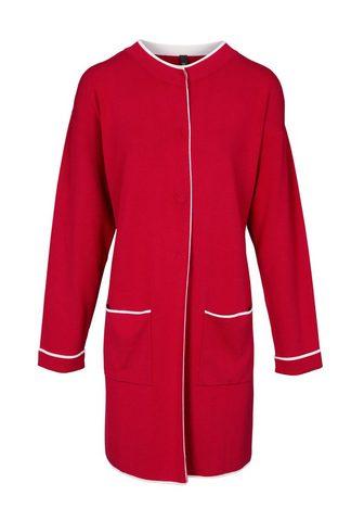 LINEA TESINI BY HEINE Megztas paltas su aufgesetzten kišenė ...