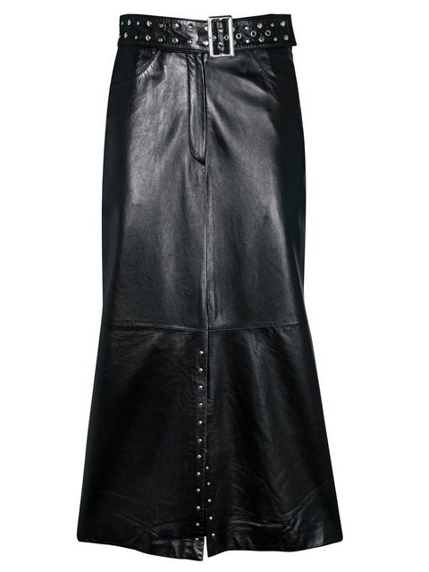 heine -  STYLE Lederrock mit Nieten