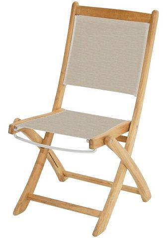 PLOSS Poilsio kėdė »Richmond« Teak/Textil kl...