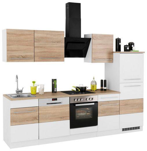 HELD MÖBEL Küchenzeile »Trient«, mit E-Geräten, Breite 280 cm