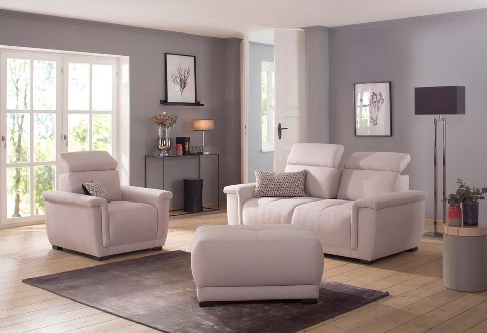 home affaire sessel brix mit kopfteilverstellung. Black Bedroom Furniture Sets. Home Design Ideas