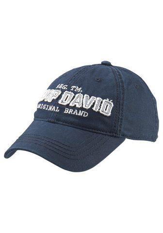 CAMP DAVID Baseball Kepurė su snapeliu