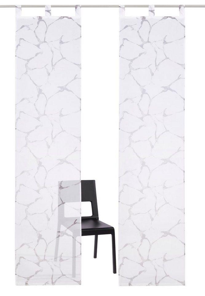 schiebegardine fulda my home schlaufen 2 st ck. Black Bedroom Furniture Sets. Home Design Ideas
