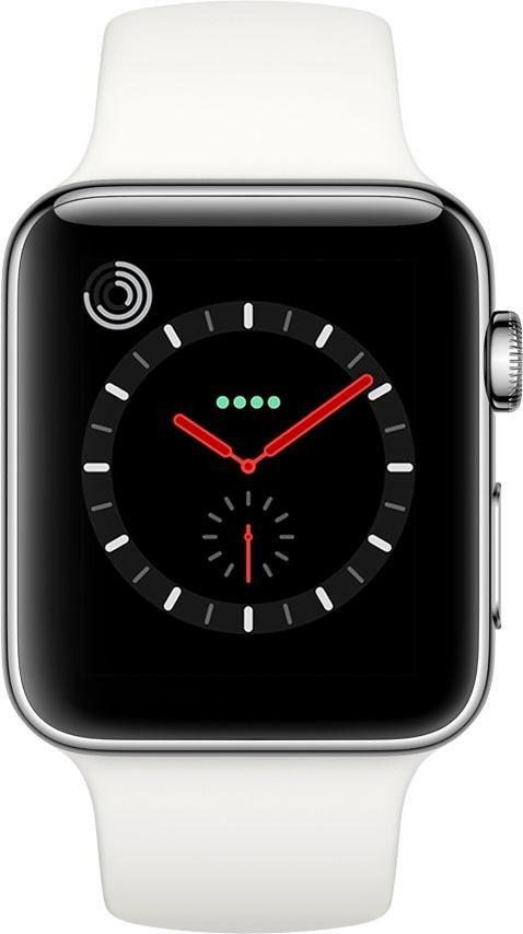 Apple Watch Series 3 GPS + Cellular, Edelstahlgehäuse ...