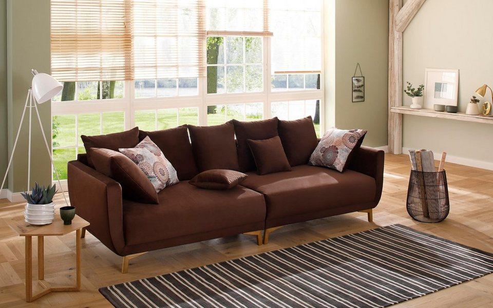 Home Affaire Big Sofa Tilda Mit Losen Ruckenkissen Zierkissen Im Skandinavischem Design Online Kaufen Otto