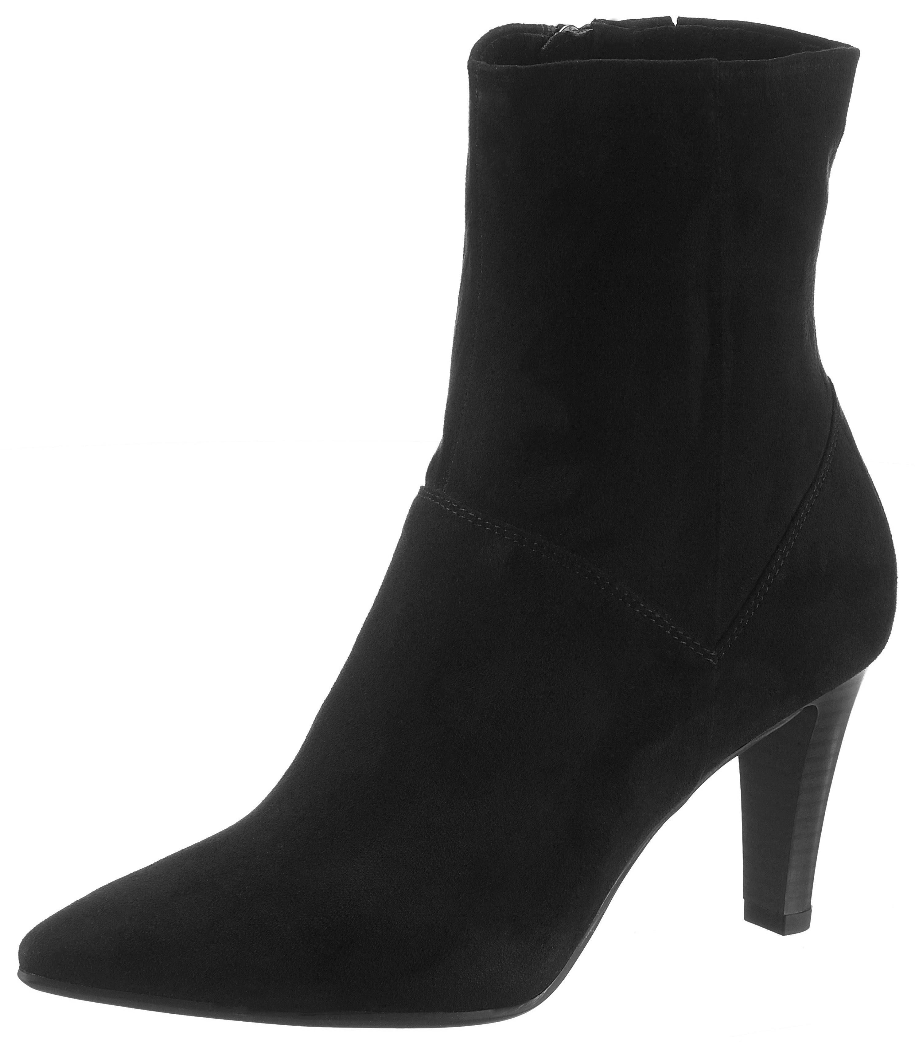 Tamaris Stiefelette, in spitzer Form online kaufen  schwarz