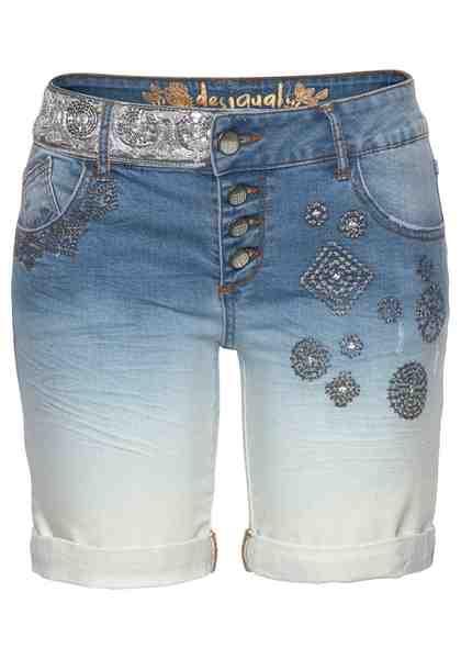 Desigual Shorts »MADISS«, mit Stickerei und Pailletten