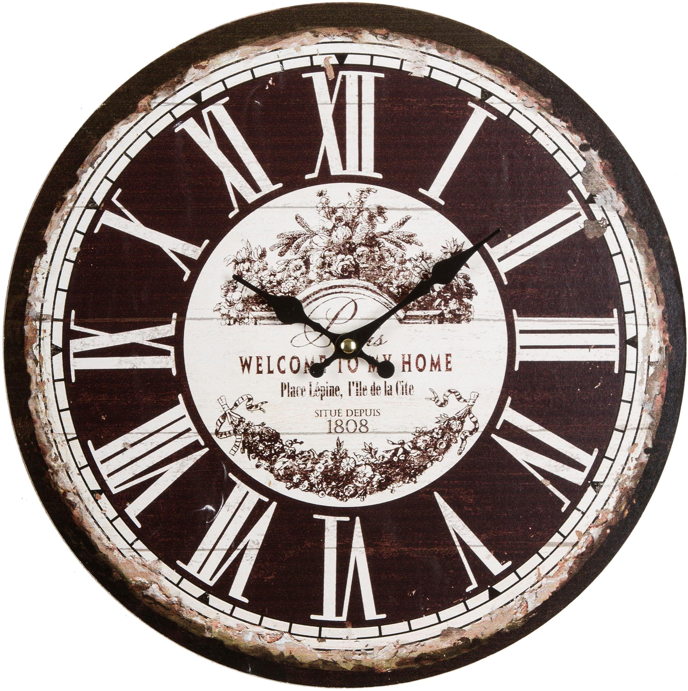 Home affaire Wanduhr »Welcome to my home«