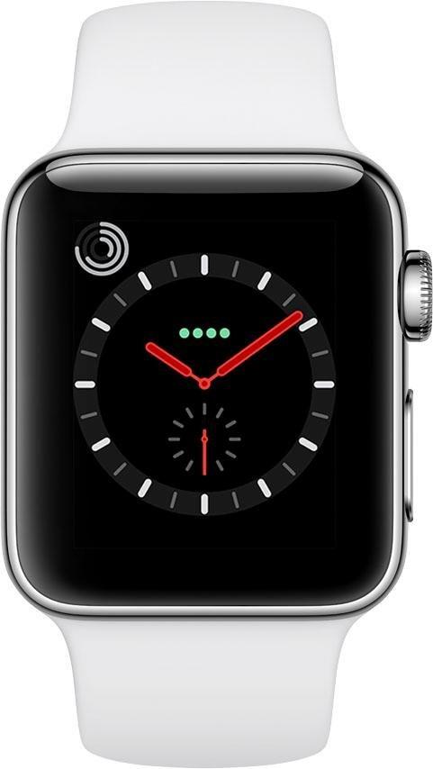 apple watch series 3 gps cellular edelstahlgeh use. Black Bedroom Furniture Sets. Home Design Ideas
