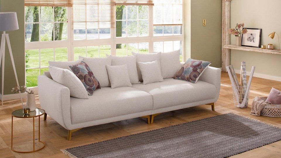 Home Affaire Big Sofa Tilda Mit Losen Ruckenkissen Zierkissen
