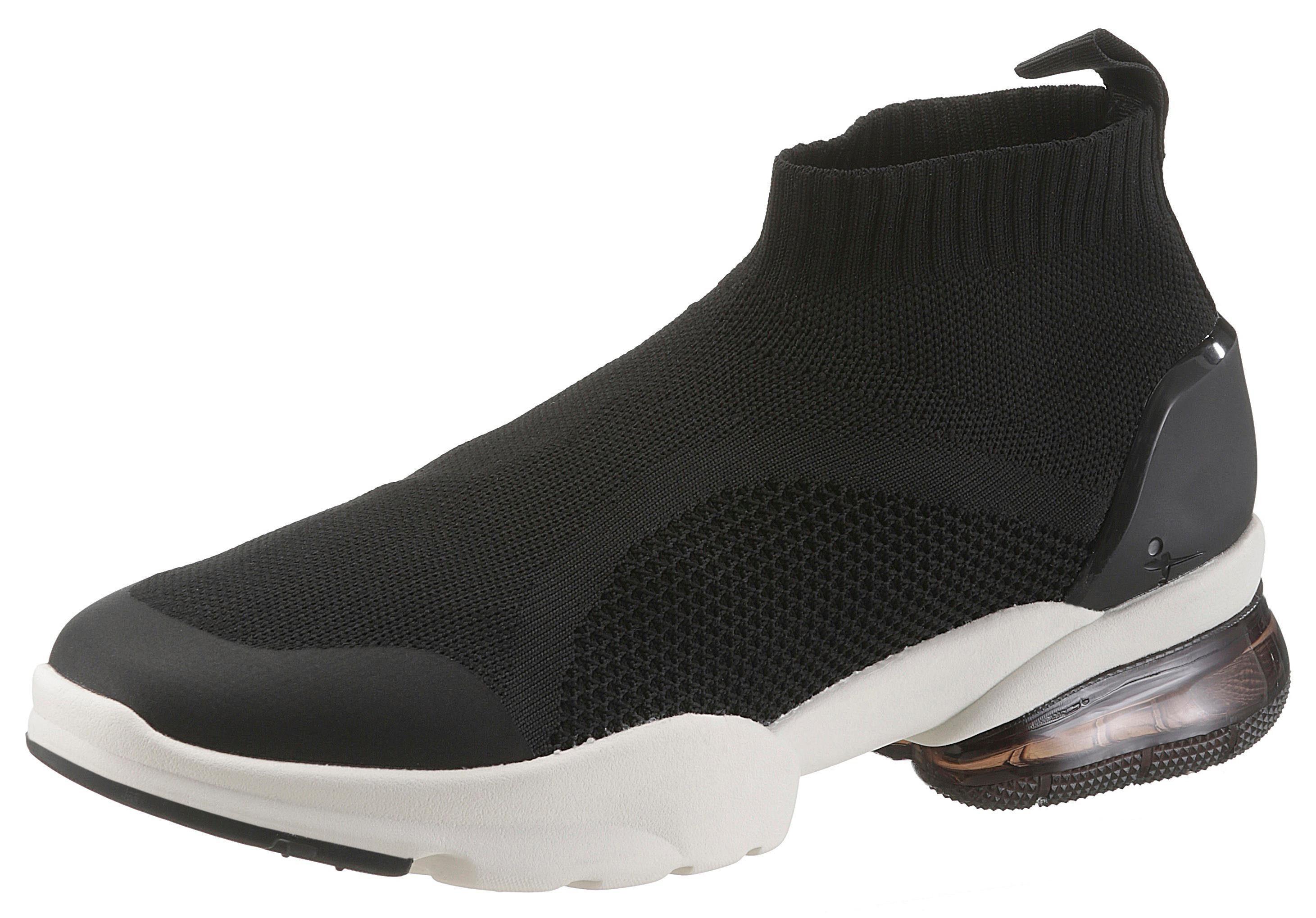 Tamaris Fashletics Sneaker, mit Sockenschaft  schwarz