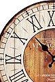 Home affaire Wanduhr »Vintage« (rund, Ø 34 cm, römische Ziffern, Vintage-Stil), Bild 3