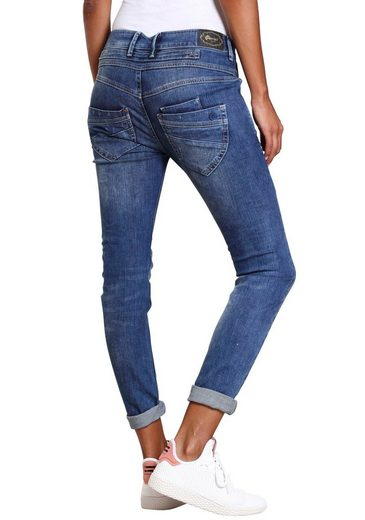 GANG Skinny-fit-Jeans »MARGE« mit besonderem 4-Knopf-Verschluss