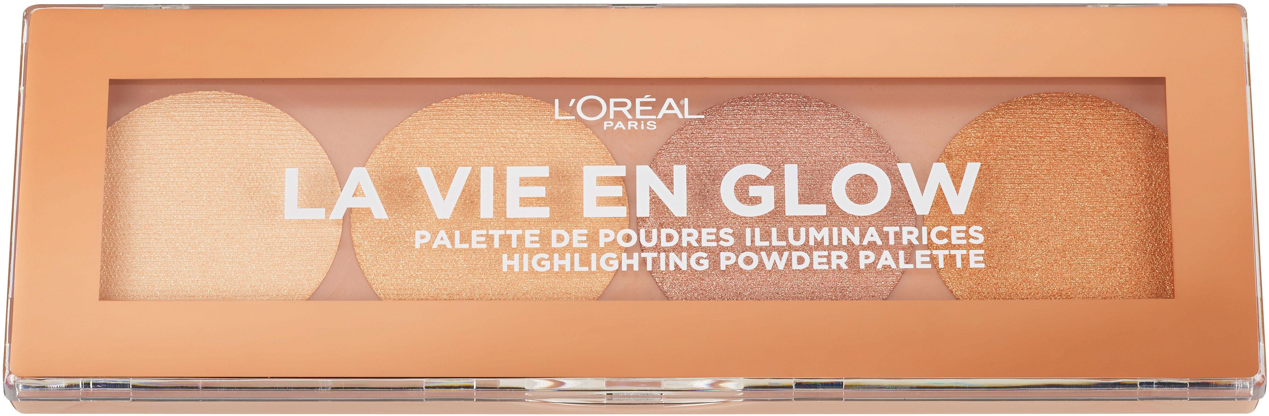 L'Oréal Paris, »La vie en glow«, Highlighter Puder-Palette