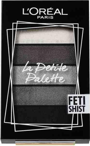 L'ORÉAL PARIS Lidschatten-Palette »La Petite Palette Fetishist«, Puder-zu-Creme-Textur