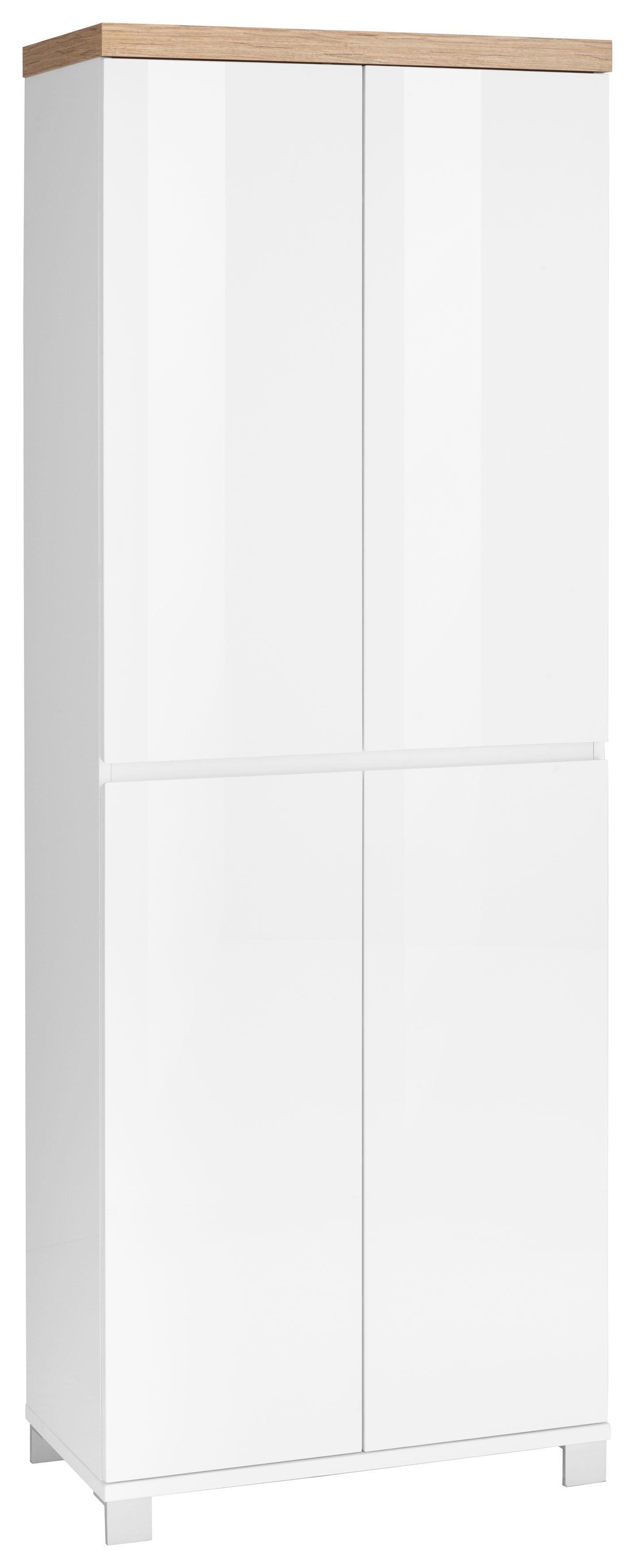 Garderobenschrank »Thila« | Flur & Diele > Garderoben > Garderobenschränke | Hochglanz - Glanz | Hochglanz - Melamin | HMW