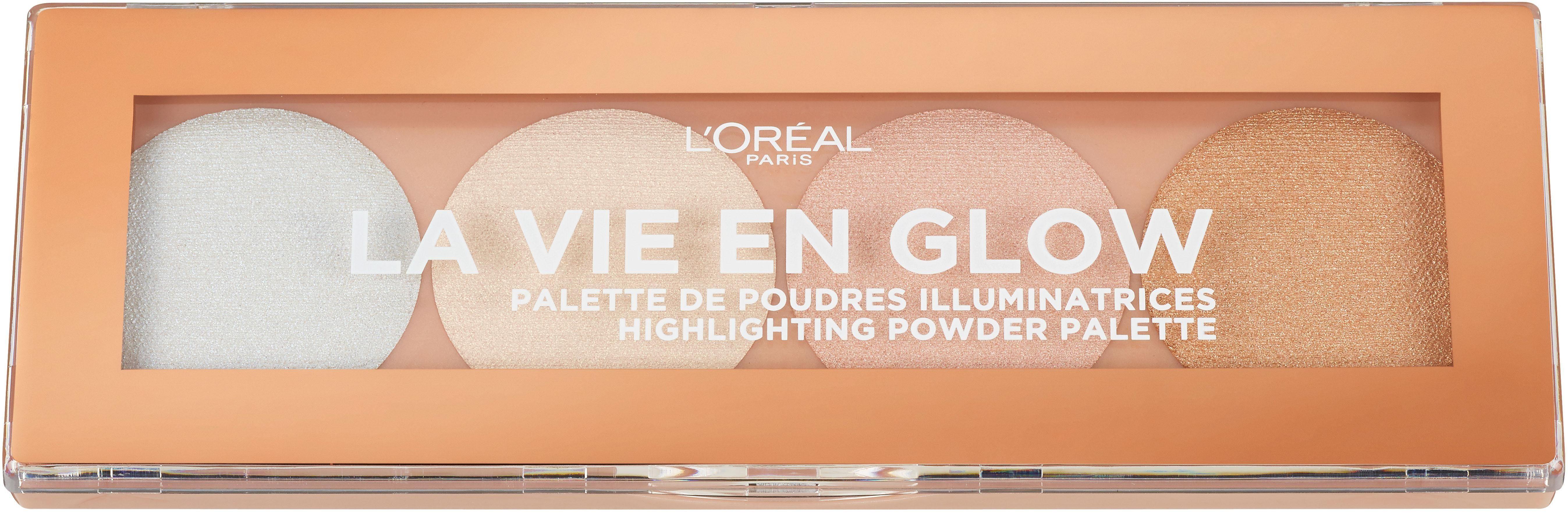 L'ORÉAL PARIS Highlighter-Palette »La vie en glow«
