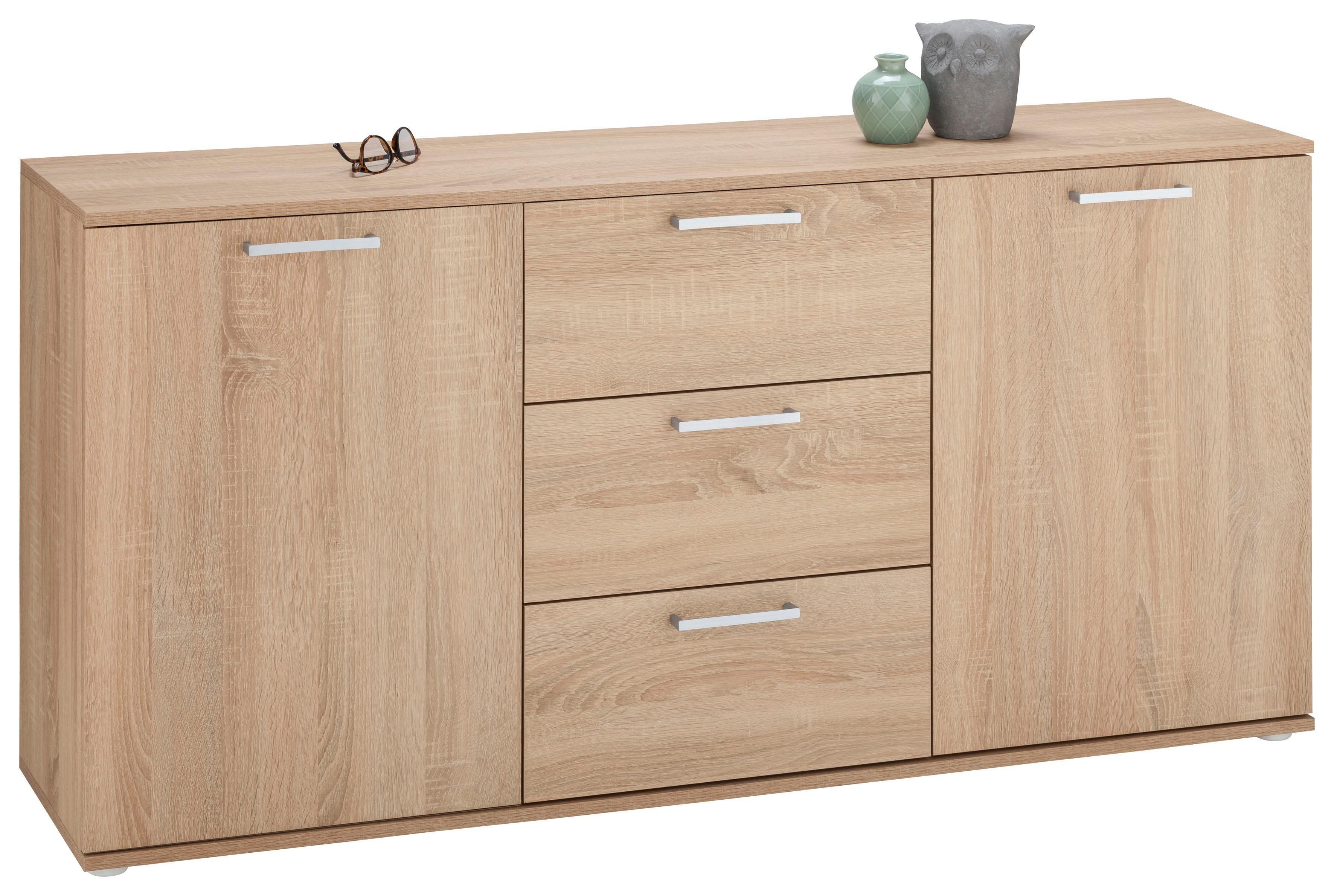 sonoma eiche sideboards online kaufen m bel suchmaschine. Black Bedroom Furniture Sets. Home Design Ideas