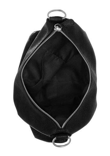 S Als Cityrucksack Hobo Label Bag Auch oliver Red Tragbar rtqXr