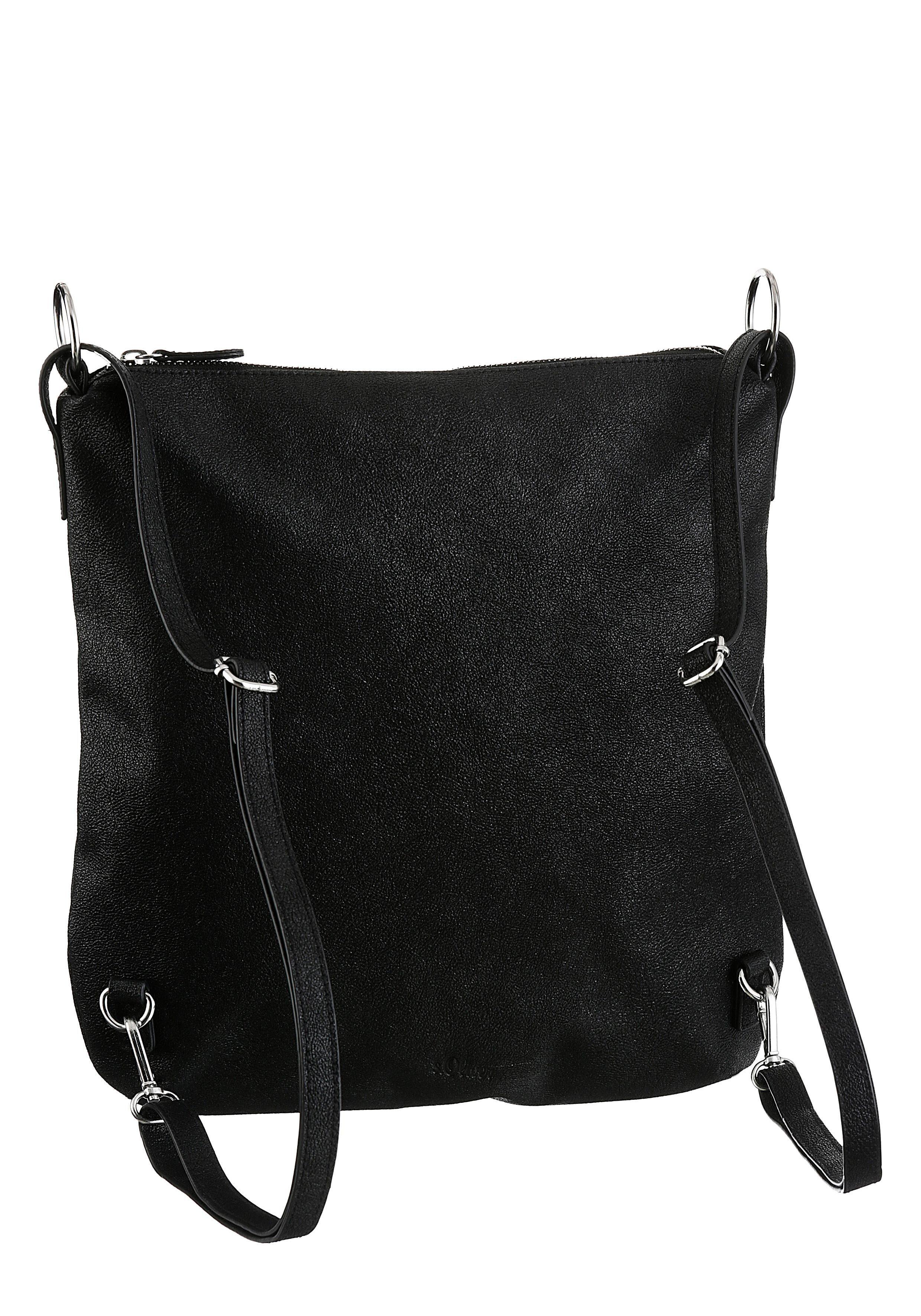 Label Hobo S Red Auch oliver Bag Tragbar Cityrucksack Als qwwTUzEOx