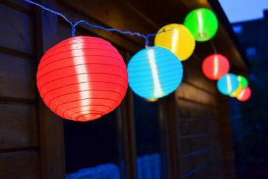 LED-Lichterkette, 15-flammig, für IN- und OUTDOOR