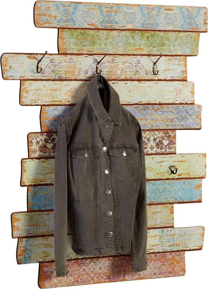 Garderobenleisten und Haken - Home affaire Garderobe »Pastell«  - Onlineshop OTTO
